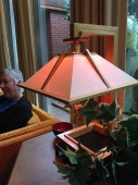 Another Wright lamp.